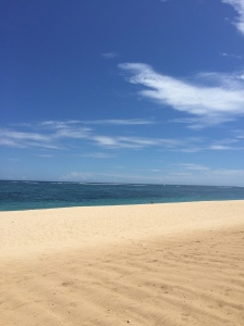 Beautiful Bali Beach in Nusa Dua