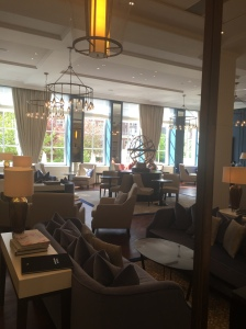 Located on the ground floor you can have drinks or an afternoon tea